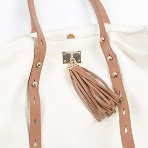 Genuine Leather Cour Art Shoulder Bag Purse Tote
